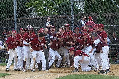 Garden City High School Baseball Honored By Umpires Association   Garden  City Life