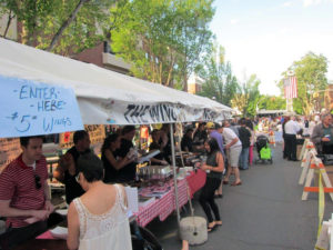 A scene from last year's Belmont Festival that was held in Garden City on Seventh Street