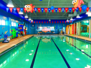 The 7,100-square foot Garden City location is the first Goldfish Swim School to open in New York State