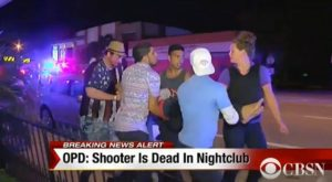 Clubbers leaving Pulse nightclub in a state of shock