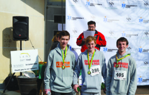 Chaminade runners who participated in the Run For Hope Fun Run