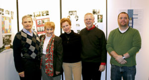 Mayor Nicholas P. Episcopia and his wife, Dorothy; Bill Slattery and his wife, Sonja, and Terry Kenny. (Photo by Suzie Alvey)