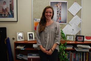 Co-valedictorian Hannah McDonald