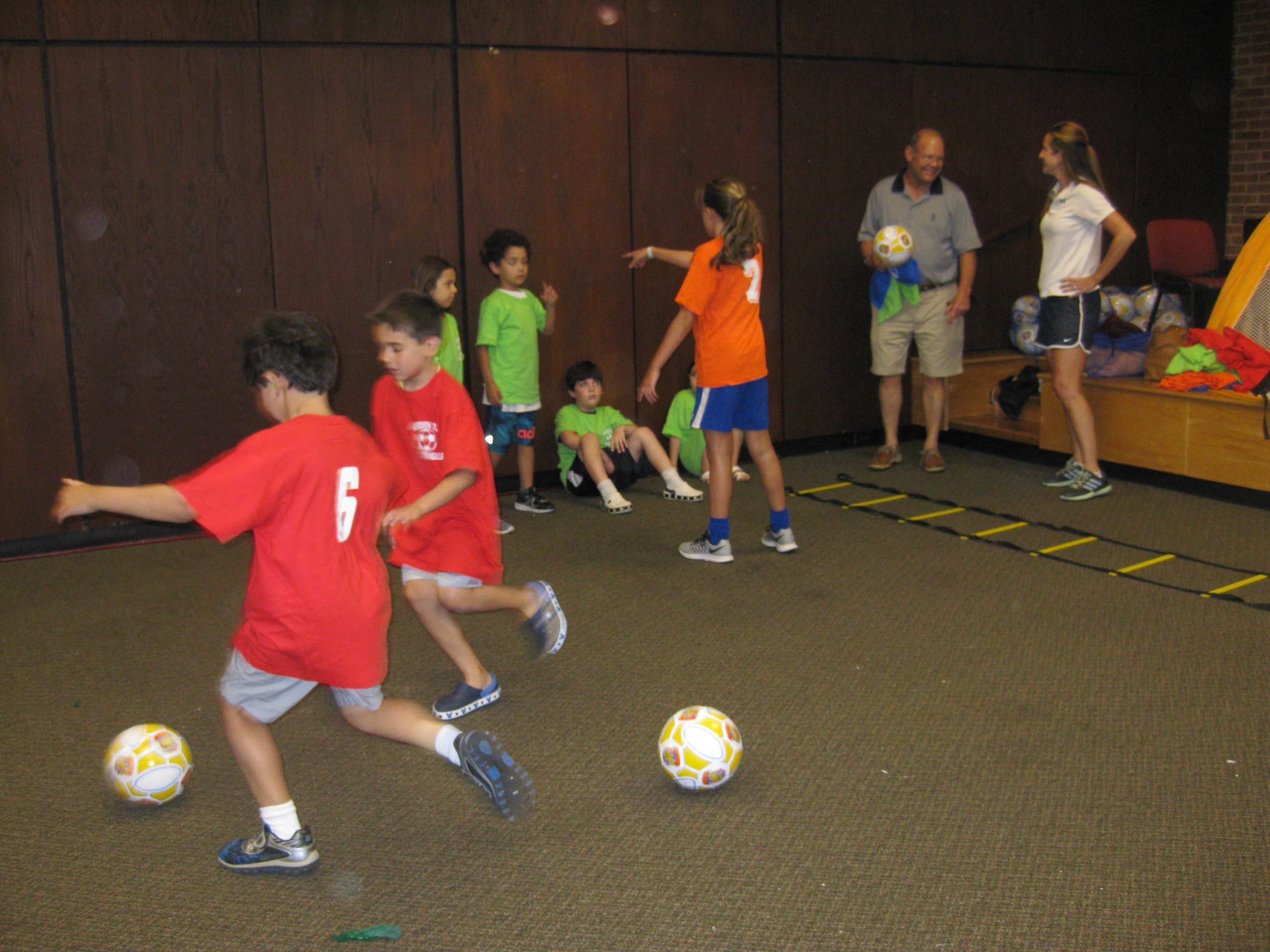 Centennial Soccer Club Visits The Library   Garden City Life
