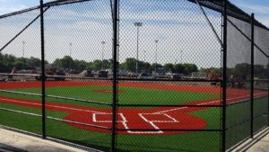 Field 4, a lighted 90-foot baseball field, underwent a complete overhaul.