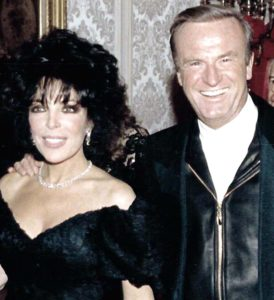 Carole Bayer Sager  and her friend,  the late Peter Allen.