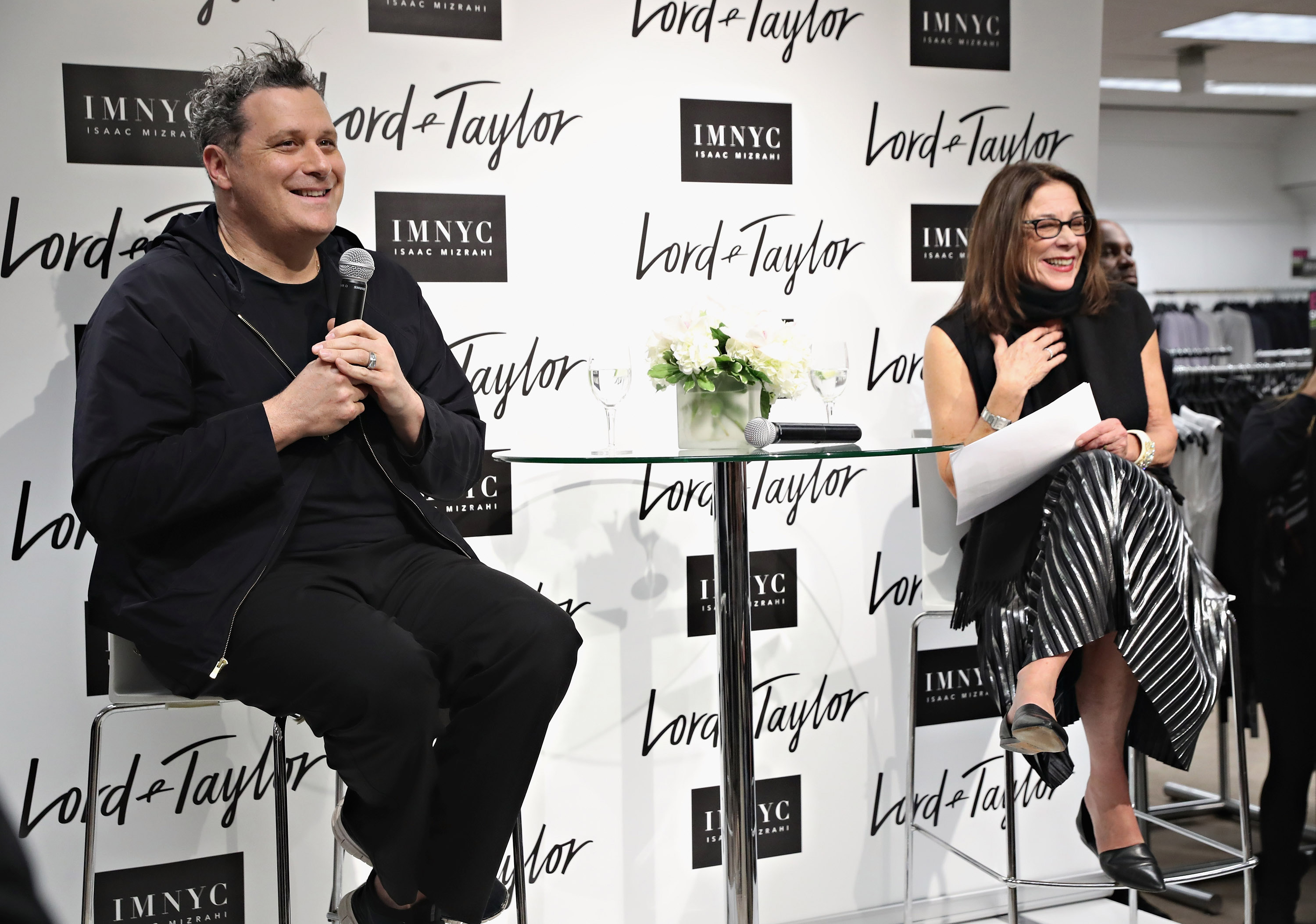Isaac mizrahi keeps it simply classic at lord taylor - Garden city park fire department ...