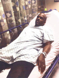 Ronald Lanier at Winthrop-University Hospital after the Western Beef incident