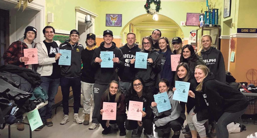 Panthers Help Beat The Cold Garden City Life